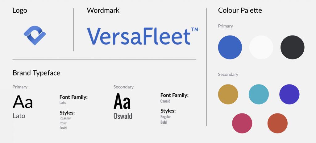 VersaFleet mini style guide